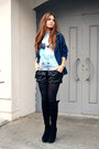Navy-denim-zanzea-jacket-sky-blue-oasap-sweatshirt