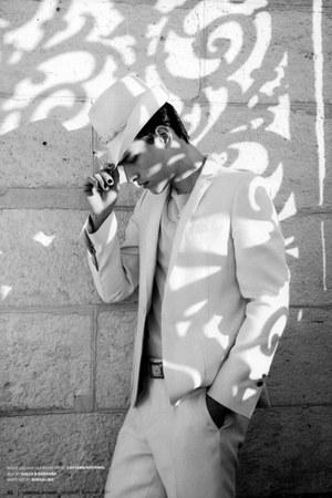 white Fatima Lopes blazer - white Fatima Lopes pants