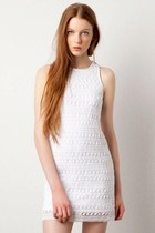 white pull&bear dress