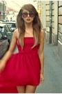 Ruby-red-mulett-threadesence-dress-crimson-sunnies-h-m-accessories