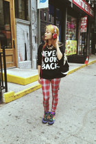 Forever21 sweater - Topshop pants