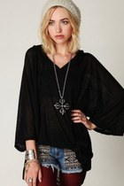 free people shorts - black Sunset- Free People hoodie