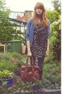 New-look-dress-h-m-cardigan-new-look-purse-primark-shoes