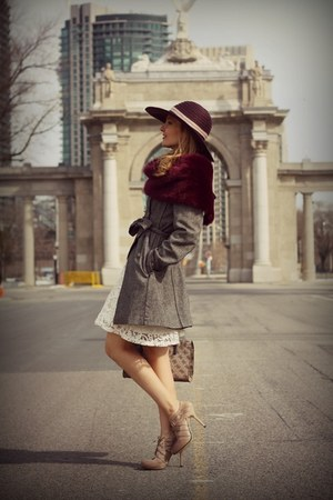 Jessica Simpson hat - Ralph Lauren scarf - Guess bag - Forever21 skirt