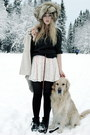 Off-white-monki-skirt-dark-gray-h-m-sweater