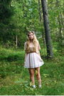 White-monki-skirt-beige-h-m-shirt-white-socks-brown-second-hand-shoes-br