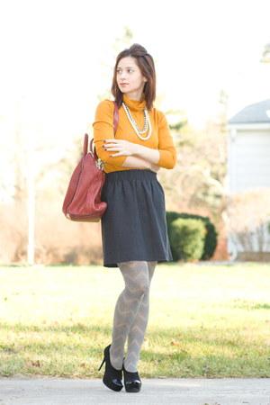 gianmarco lorenzi shoes - Ebay shirt - Anthro tights - Givenchy purse