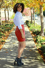 Heather-gray-alexander-wang-boots-brick-red-leather-vintage-skirt