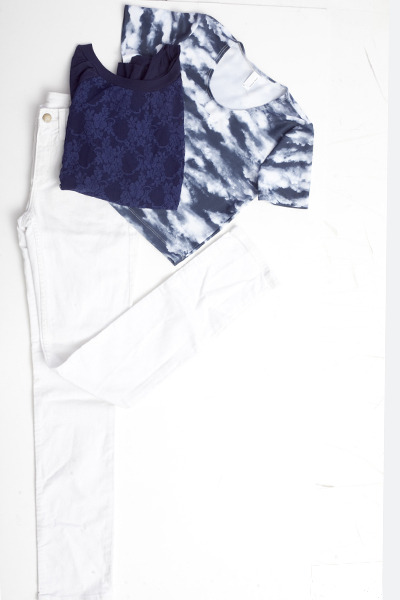 white American Apparel jeans - blue American Apparel sweater - white American Ap
