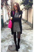 black zaracom Zara dress