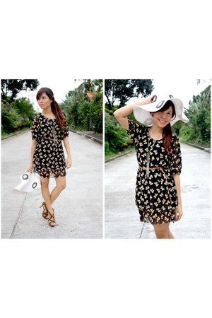 chiffon AeanKli Clothing Line dress - People are People heels