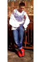 Dr Martens boots - new look bra - Topshop cardigan