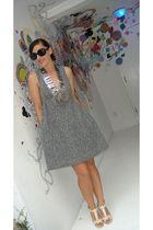 Anna Sui dress - Angeles Almuna Design accessories - Aldo shoes - Ralph Lauren s