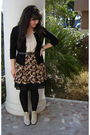 Black-goodwill-cardigan-beige-new-york-co-shirt-black-goodwill-skirt-bla