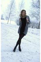 Nilson shoes - cotton Vila dress - unknown brand leggings - cotton Monki cardiga