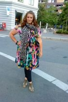 H&M dress - H&M scarf