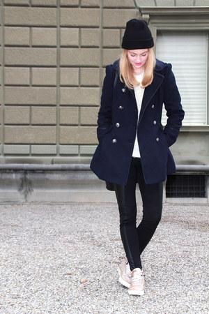glitter Diesel sneakers - blue london coat - fluffi london sweater