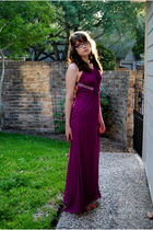 purple Flip dress