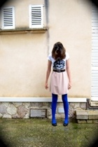 byblos skirt - Accessorize tights - Zara shirt