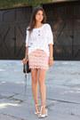 White-dkny-sweater-black-rebecca-minkoff-bag-pink-goodnight-macaroon-skirt