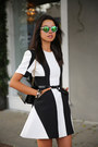 Black-finders-keepers-dress-black-armani-bag-green-illesteva-sunglasses