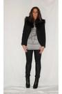 Black-zara-blazer-gray-zara-shirt-black-h-m-pants-black-silvian-heach-boot