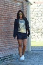 Black-zara-blazer-black-zara-shorts-off-white-h-m-sneakers