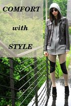 Dressing comfortably without sacrificing style