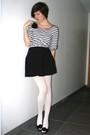 White-tights-black-skirt-white-top-black-accessories