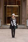 Heather-gray-polka-dot-forever-21-sweater-black-leather-zara-leggings