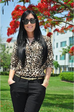 vintage-thrift blouse