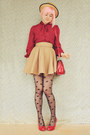 Camel-diy-skirt-ruby-red-satchel-wholesale-bag