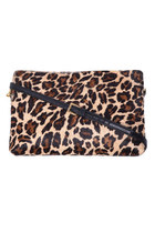 Pony Skin Shoulder Clutch
