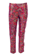 Slim Fit Brocade Pant