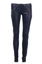 Box Leather Pant
