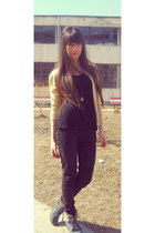 glow blouse - zara boots - bershka jeans - glow t-shirt - stradivarius necklace