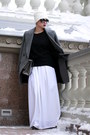 Heather-gray-zara-coat-white-stradivarius-hat-black-h-m-sweater