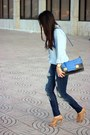 Blue-stradivarius-jeans-light-blue-stradivarius-shirt-black-sole-society-bag