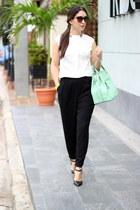 aquamarine Shoedazzle bag - brown Urban Outfitters sunglasses