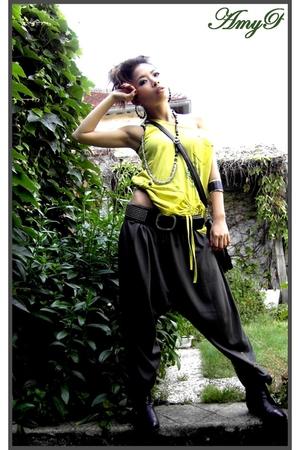 Zara pants - Diesel boots - pull&bear belt