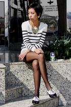 oxford Topshop shoes - black Accessorize tights - Topshop - Topshop