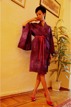 purple vintage ebay dress - red Turkish Brand