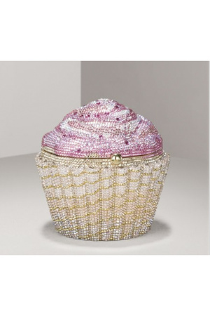 Leiber Limited-Edition Strawberry Cupcake Clutch