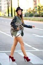 army green Lefties jacket