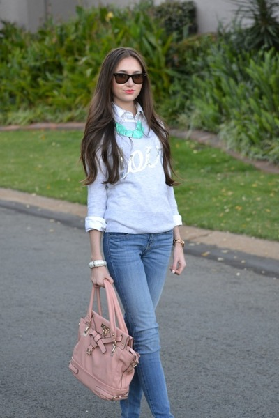 Michael Kors watch - Zara jeans - Mr Price sweater - Forever New bag
