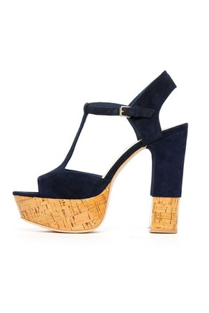 navy Dolce Vita sandals