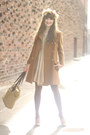 My-pet-square-dress-vintage-coat-filson-bag-j-crew-heels