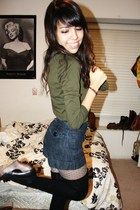 Forever 21 shirt - Forever 21 shorts - Urban Outfitters stockings - Urban Outfit