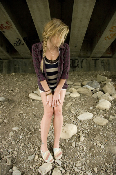 Keds shoes - purple Element shirt - blue romper- Forever 21 shorts