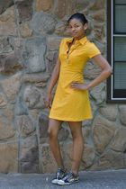 Ed Hardy shoes - American Apparel dress - mother made necklace
